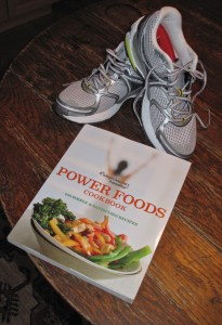 Sneakers and cookbooks